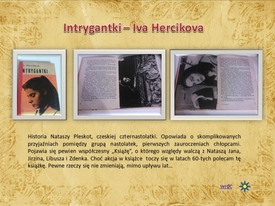 Intrygantki – Iva Hercikova