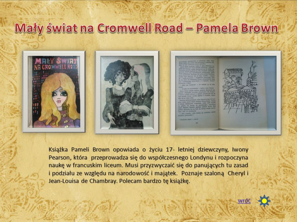 Mały świat na Cromwell Road – Pamela Brown