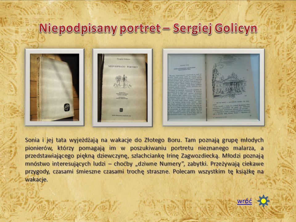 Niepodpisany portret – Sergiej Golicyn