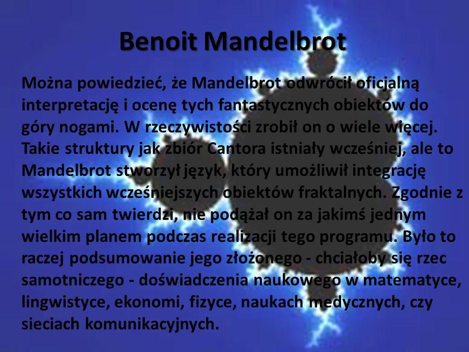 Benoit Mandelbrot Benoit Mandelbrot
