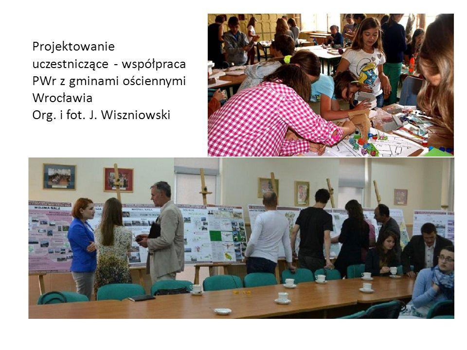 Projektowanie uczestniczące - współpraca PWr z gminami ościennymi Wrocławia