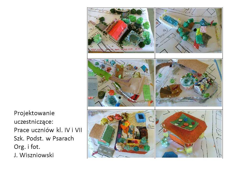 Projektowanie uczestniczące: Prace uczniów kl. IV i VII Szk. Podst