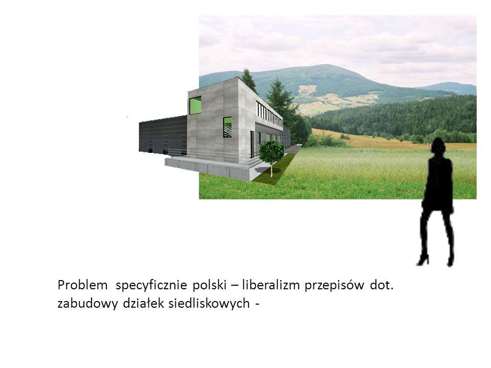 Problem specyficznie polski – liberalizm przepisów dot