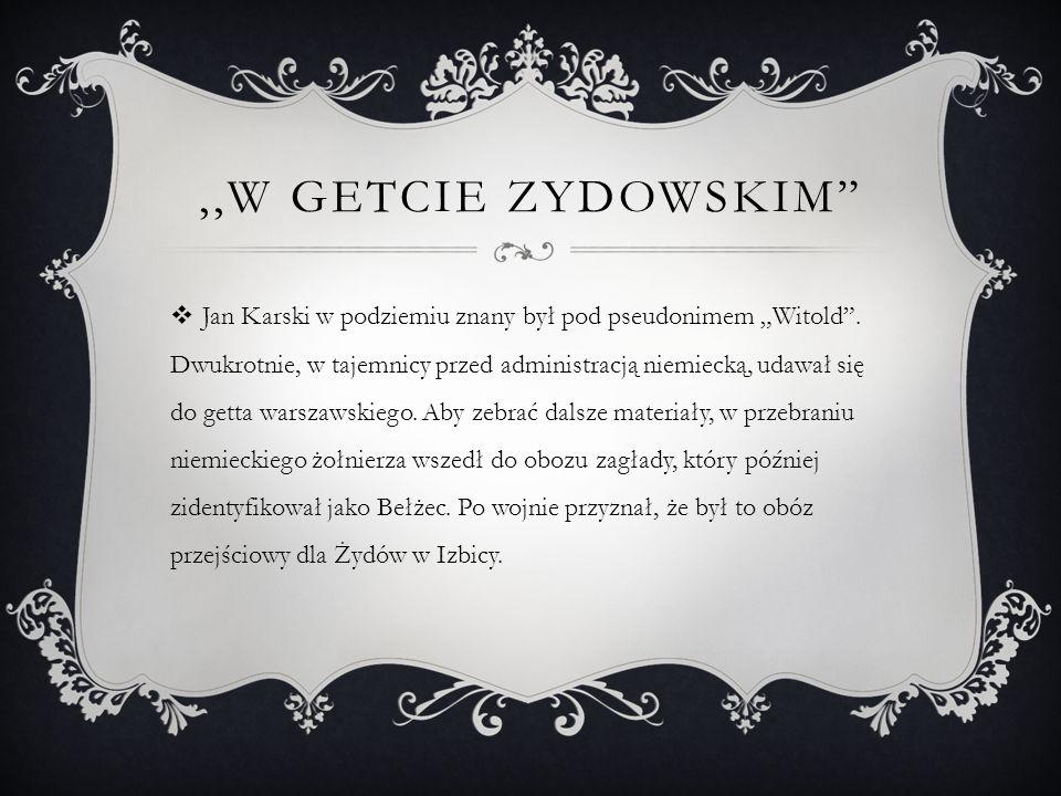 ,,W Getcie Zydowskim