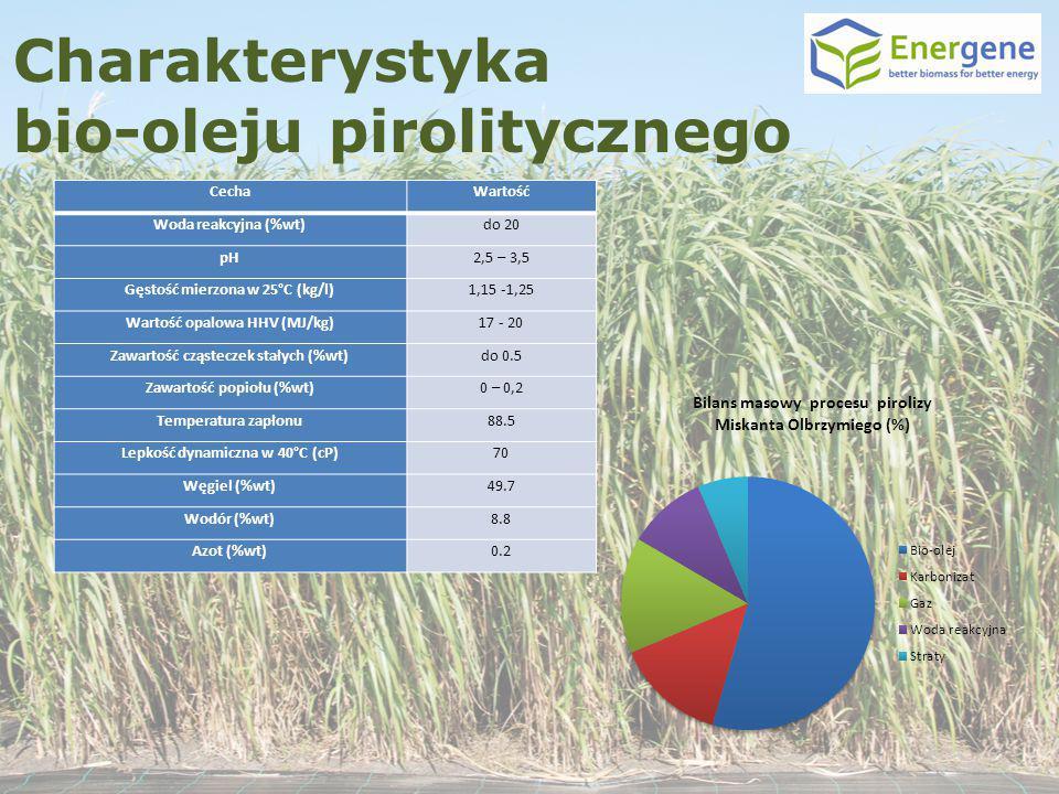 Charakterystyka bio-oleju pirolitycznego