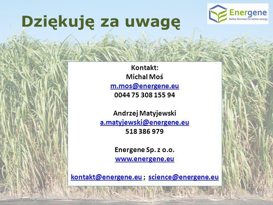 kontakt@energene.eu ; science@energene.eu