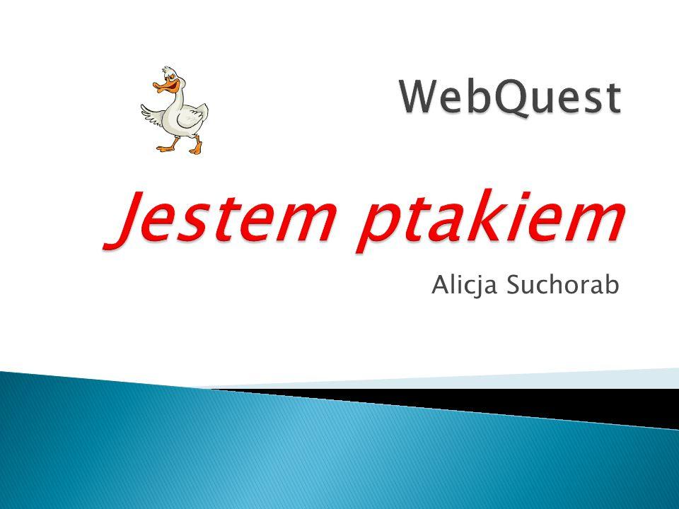 WebQuest Jestem ptakiem