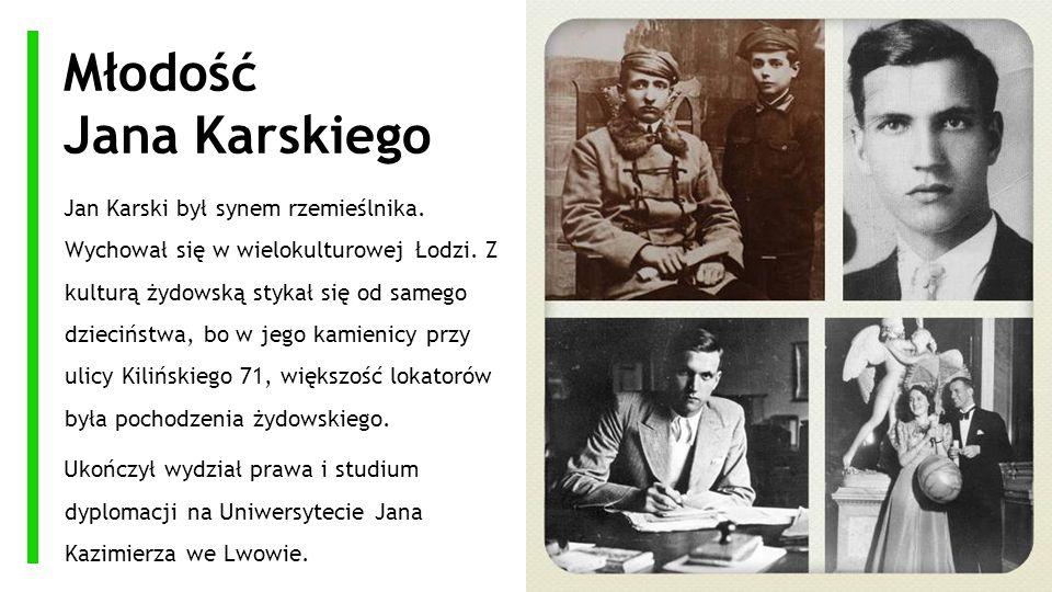 Młodość Jana Karskiego