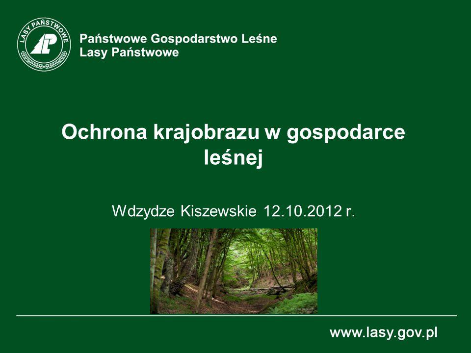 Ochrona krajobrazu w gospodarce leśnej