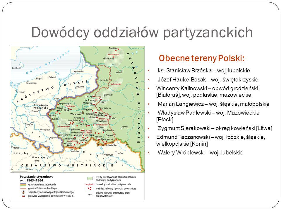 Dowódcy oddziałów partyzanckich