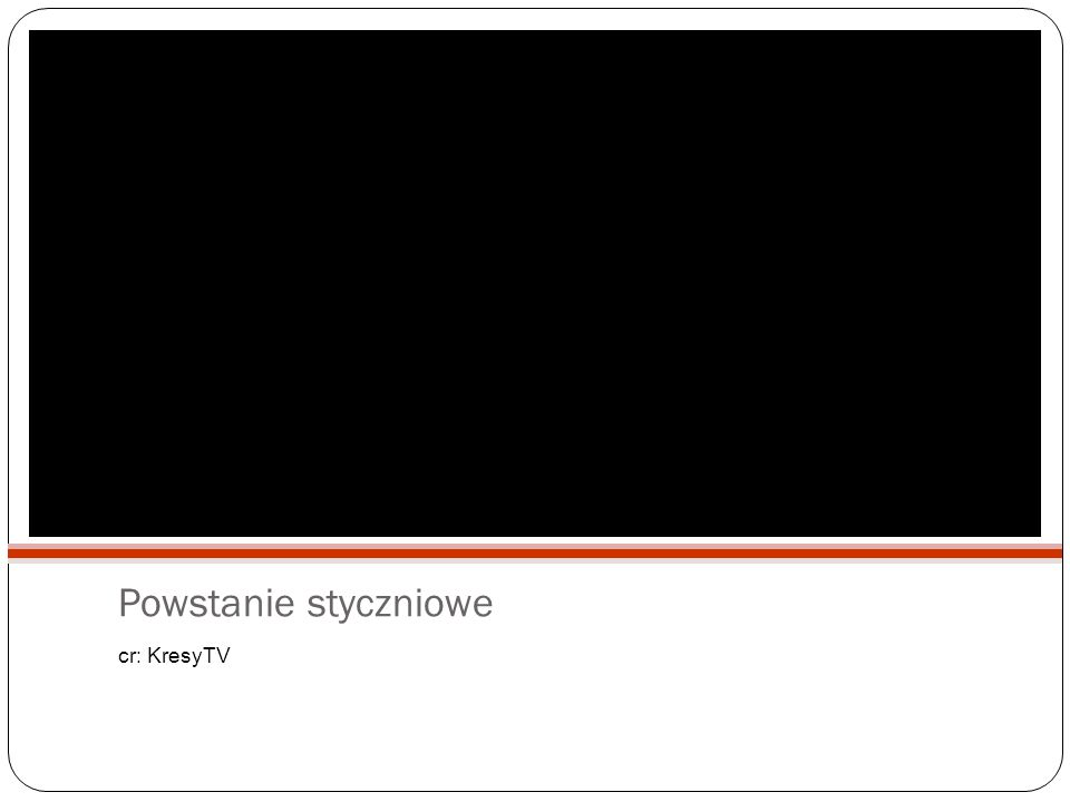 Powstanie styczniowe cr: KresyTV