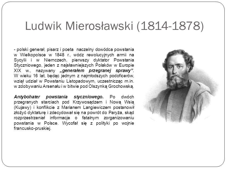 Ludwik Mierosławski (1814-1878)