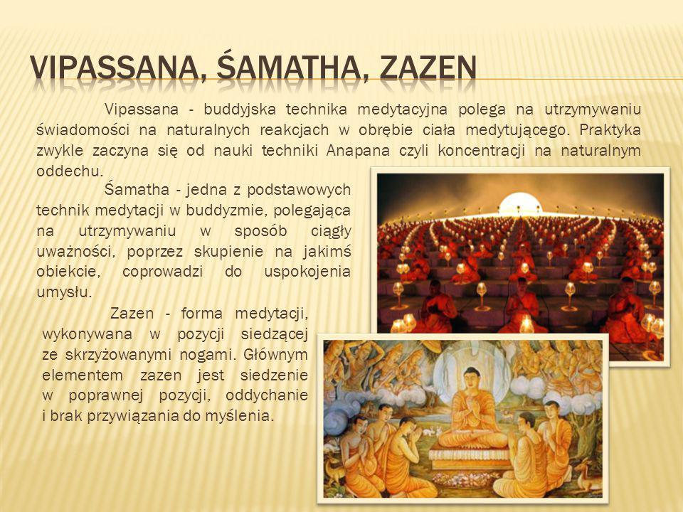 vipassana, ŚAMATHA, zazen