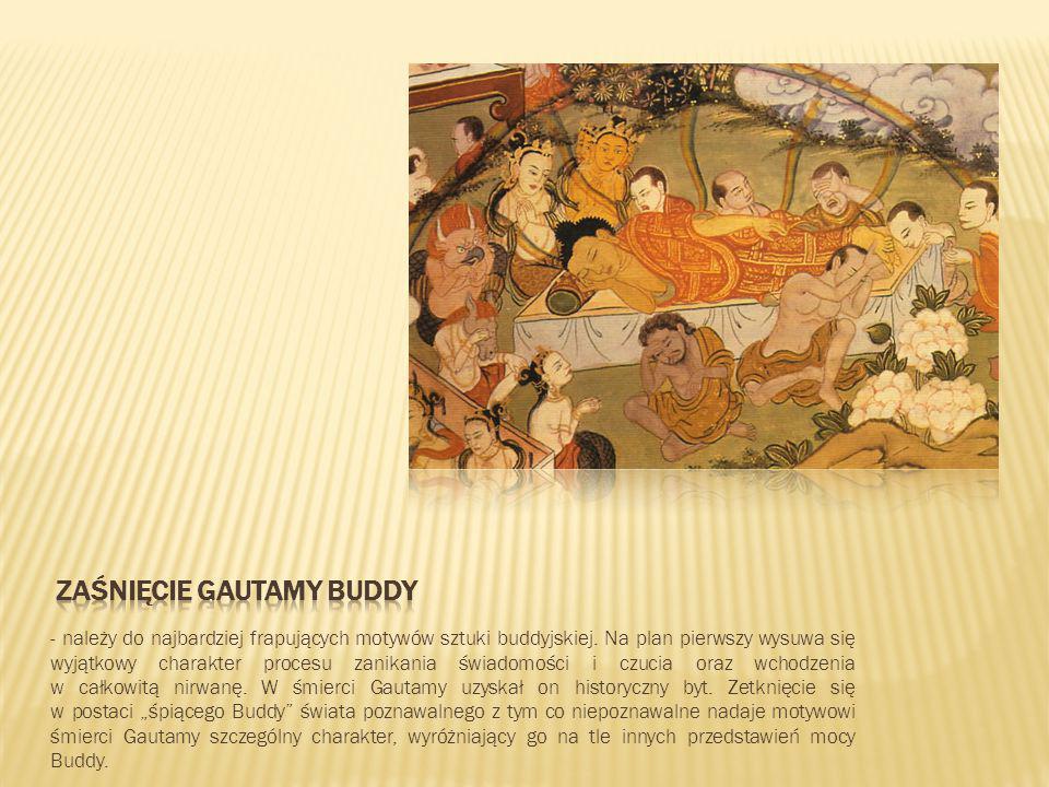Zaśnięcie Gautamy Buddy