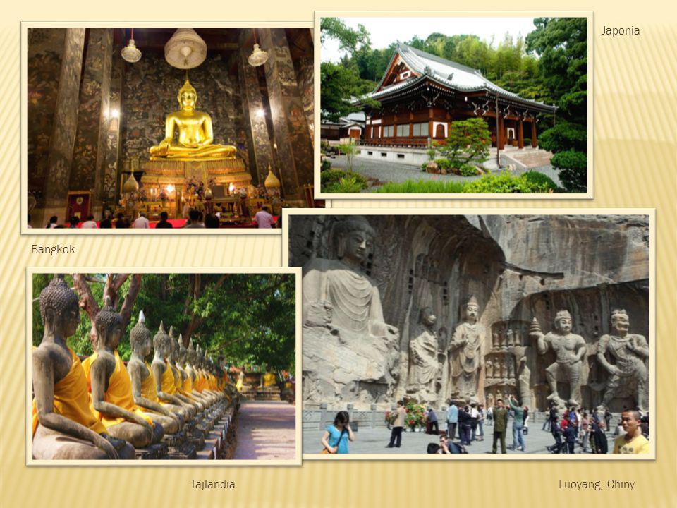 Japonia Bangkok Tajlandia Luoyang, Chiny