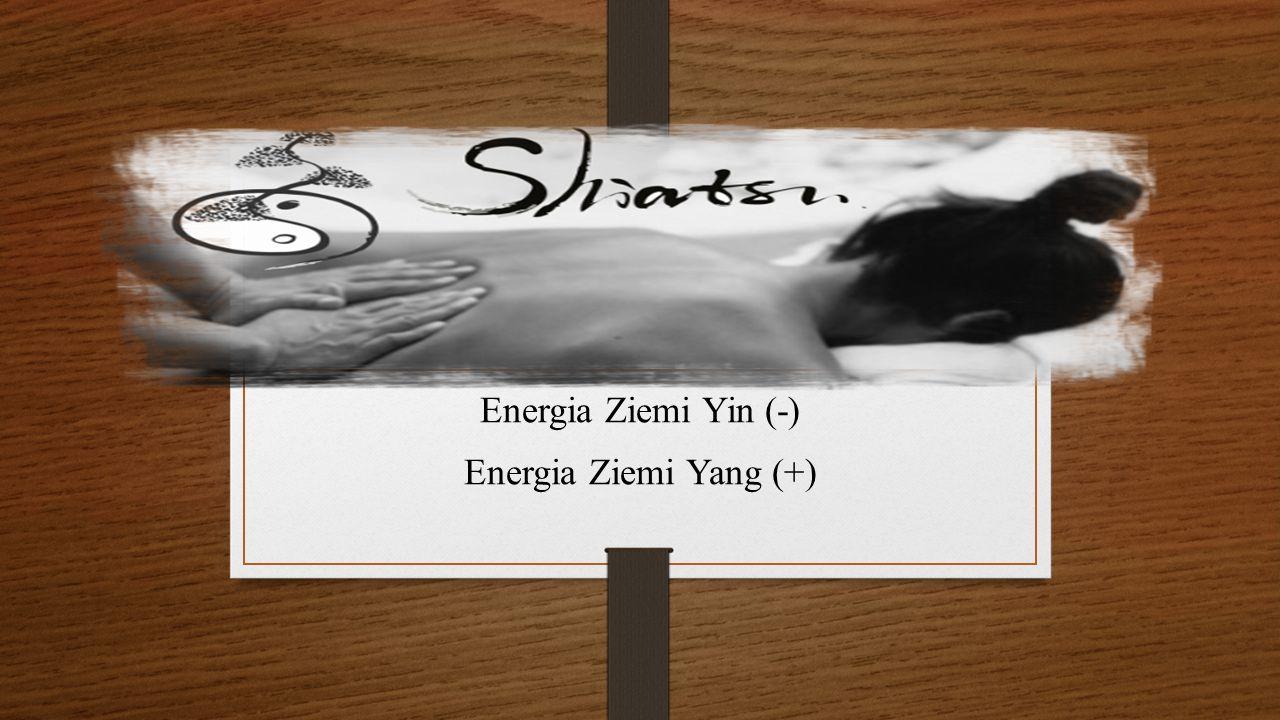 Energia Ziemi Yin (-) Energia Ziemi Yang (+)