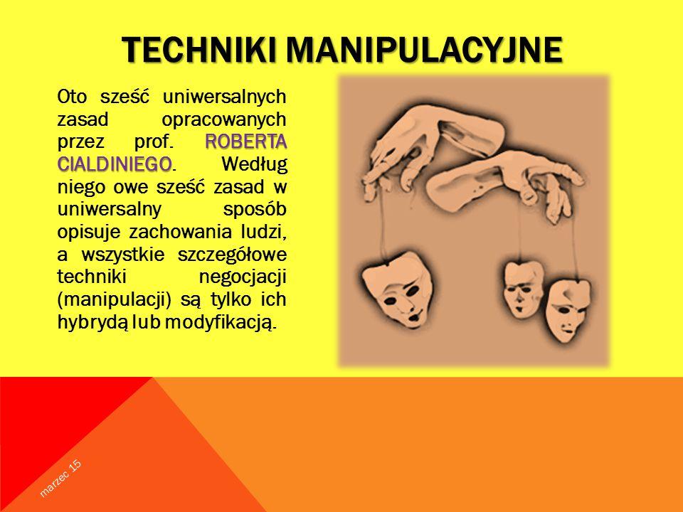 Techniki Manipulacyjne