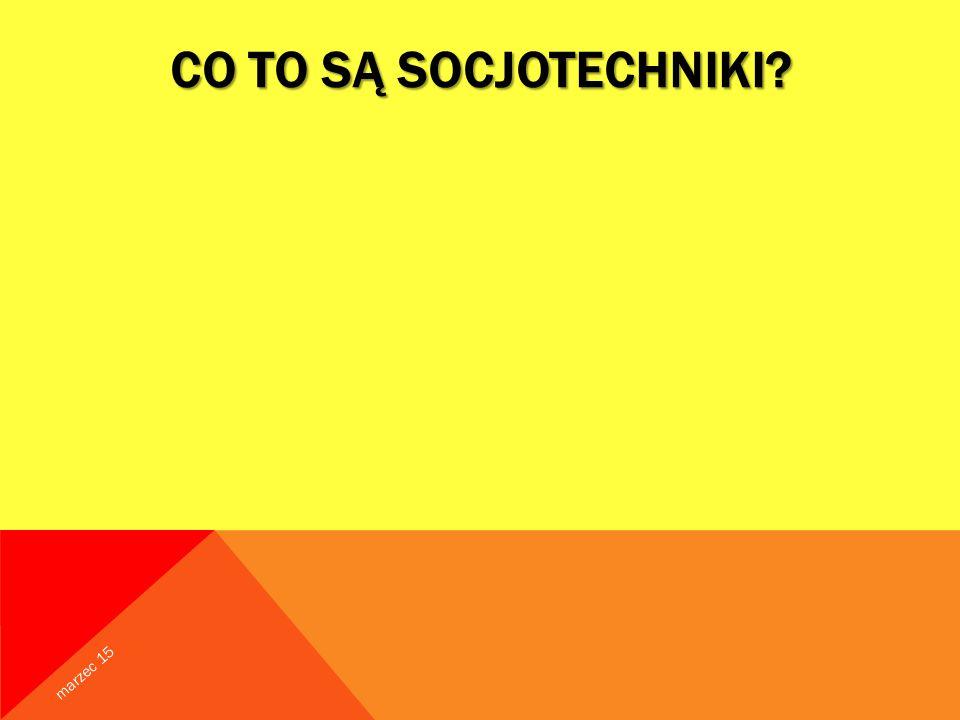 Co to są Socjotechniki kwiecień 17