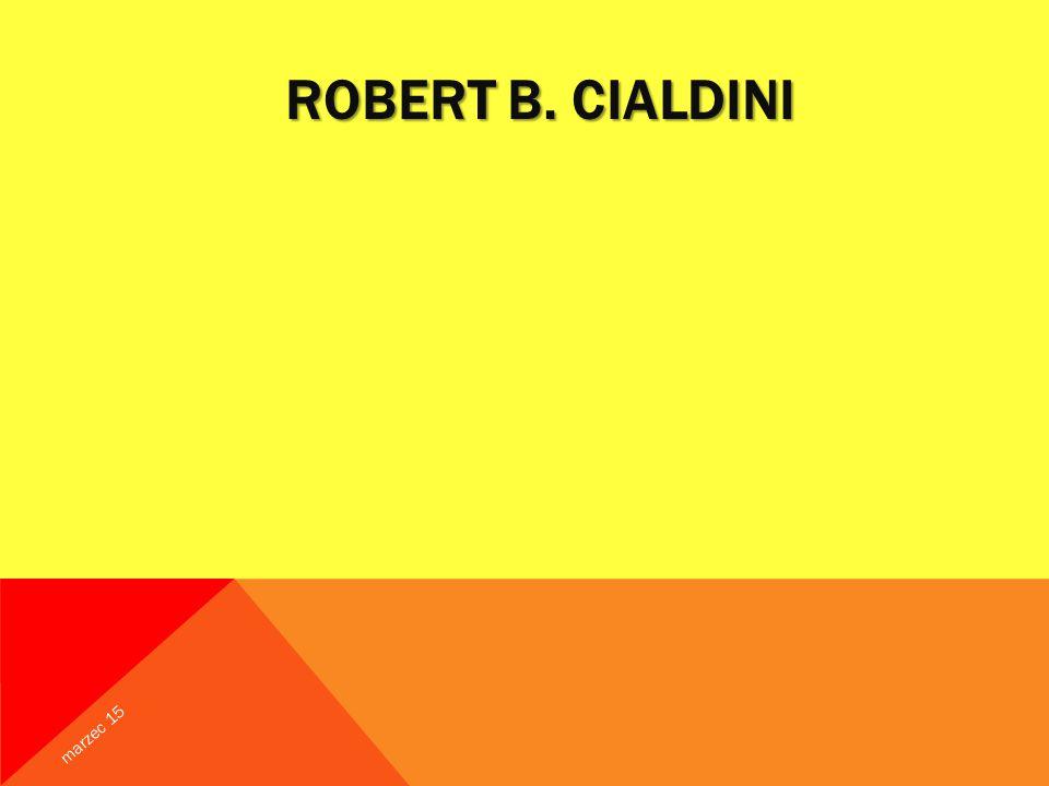 Robert B. Cialdini kwiecień 17