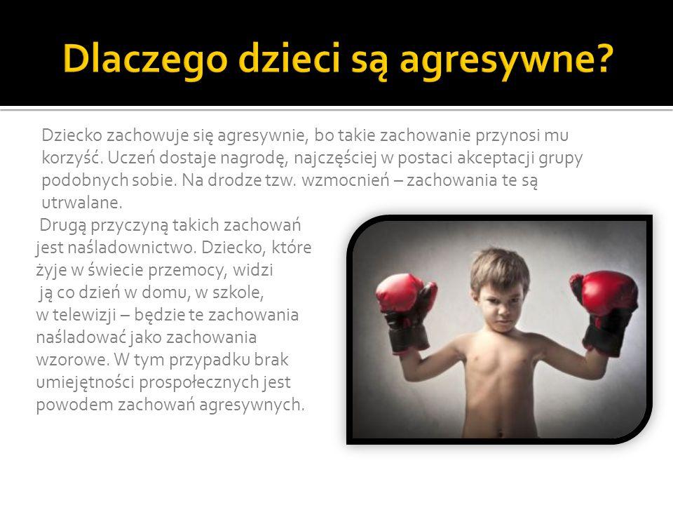 Dlaczego dzieci są agresywne