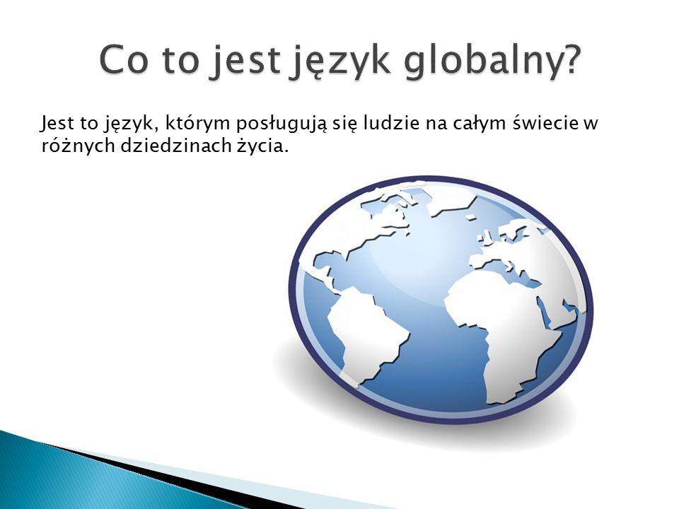 Co to jest język globalny