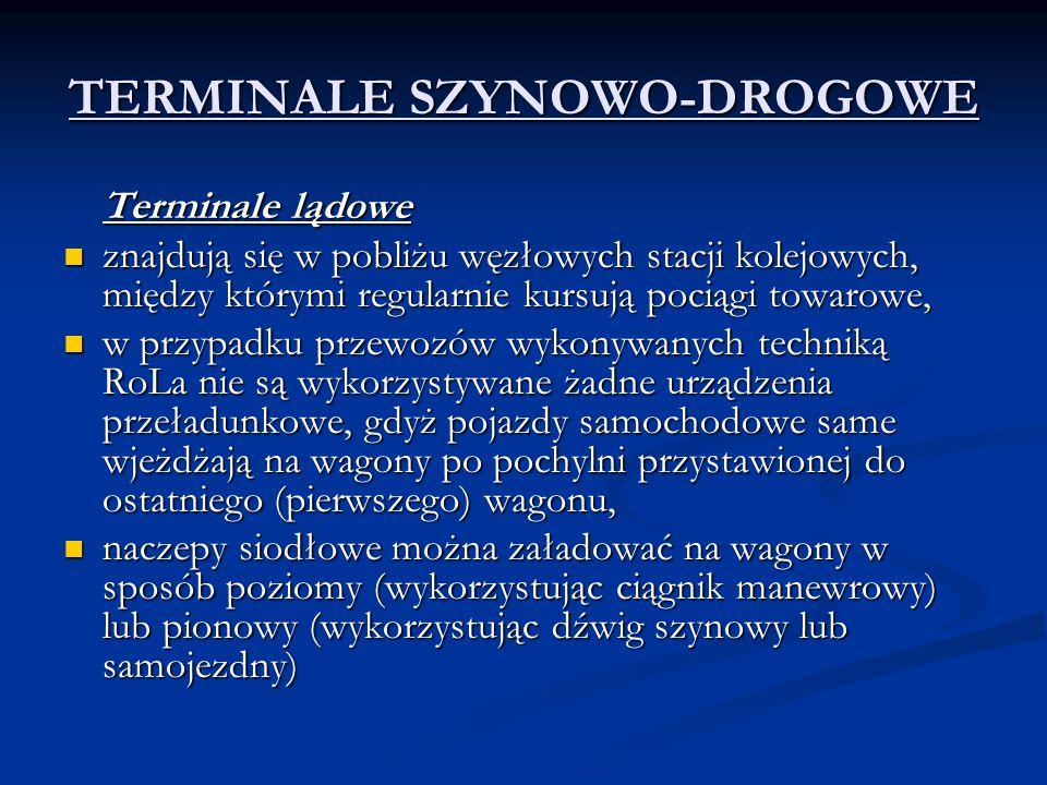 TERMINALE SZYNOWO-DROGOWE