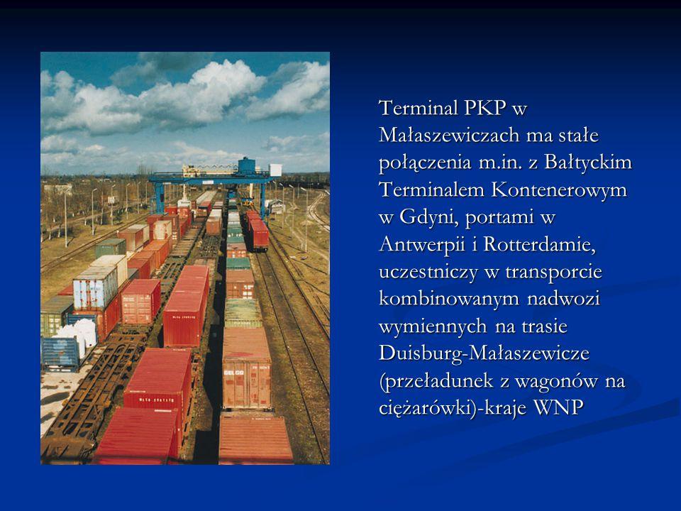 Terminal PKP w Małaszewiczach ma stałe połączenia m. in