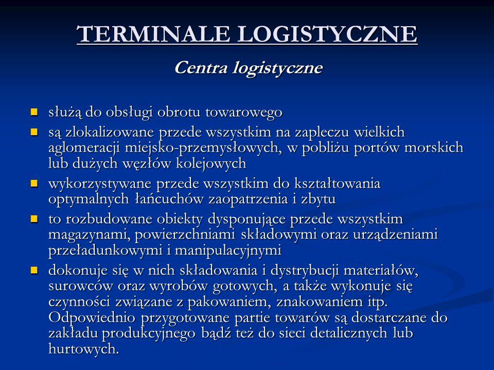 TERMINALE LOGISTYCZNE