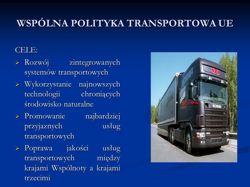 WSPÓLNA POLITYKA TRANSPORTOWA UE