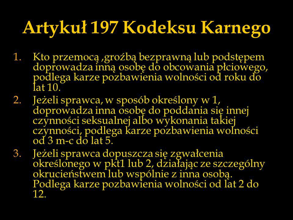 Artykuł 197 Kodeksu Karnego