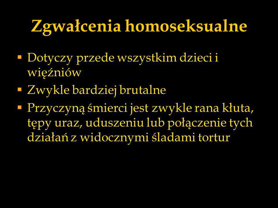 Zgwałcenia homoseksualne
