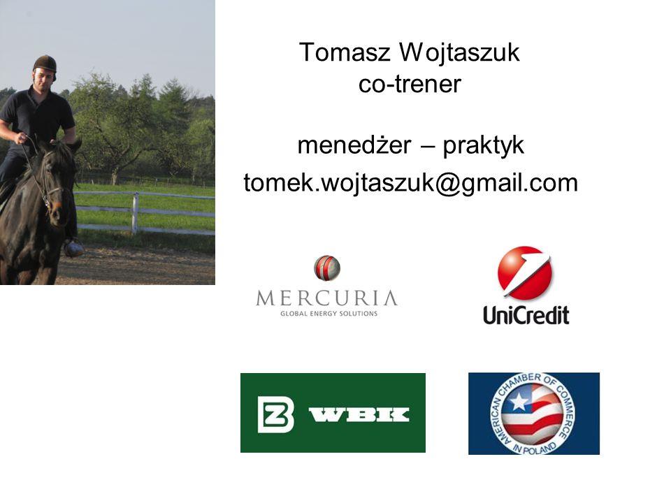 Tomasz Wojtaszuk co-trener