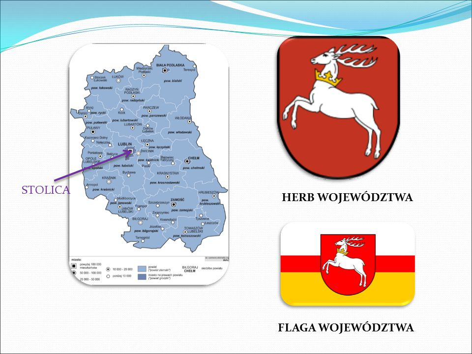 STOLICA HERB WOJEWÓDZTWA FLAGA WOJEWÓDZTWA