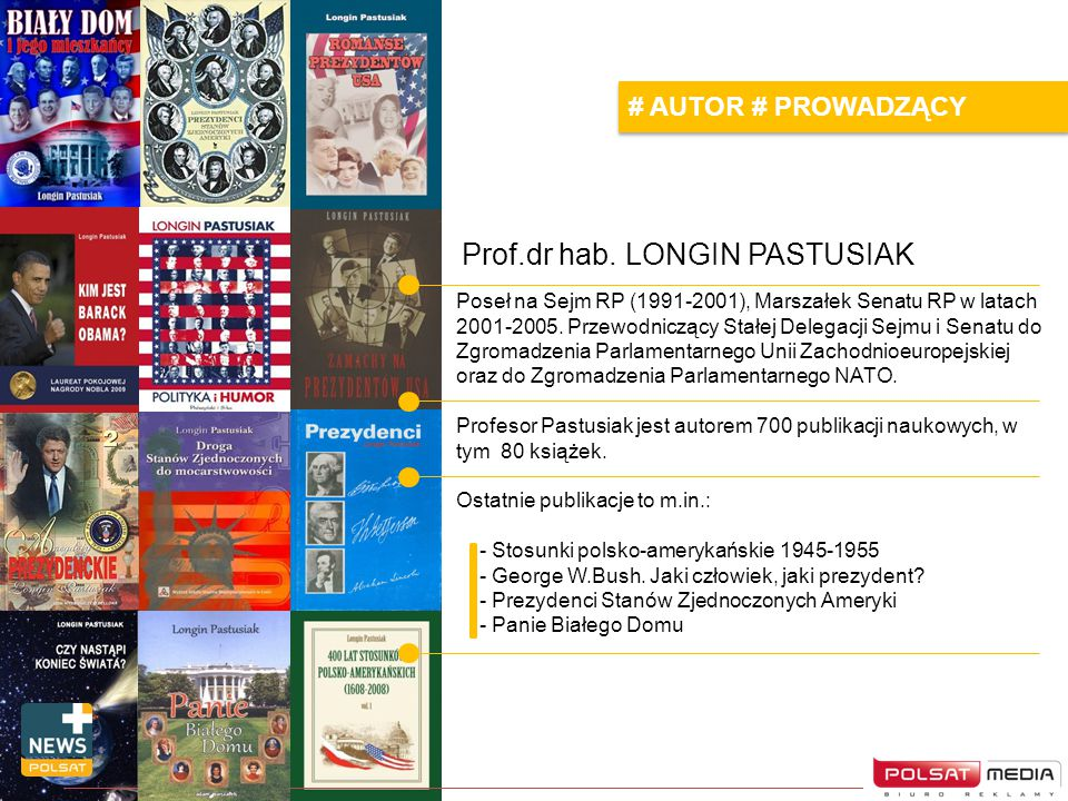 Prof.dr hab. LONGIN PASTUSIAK