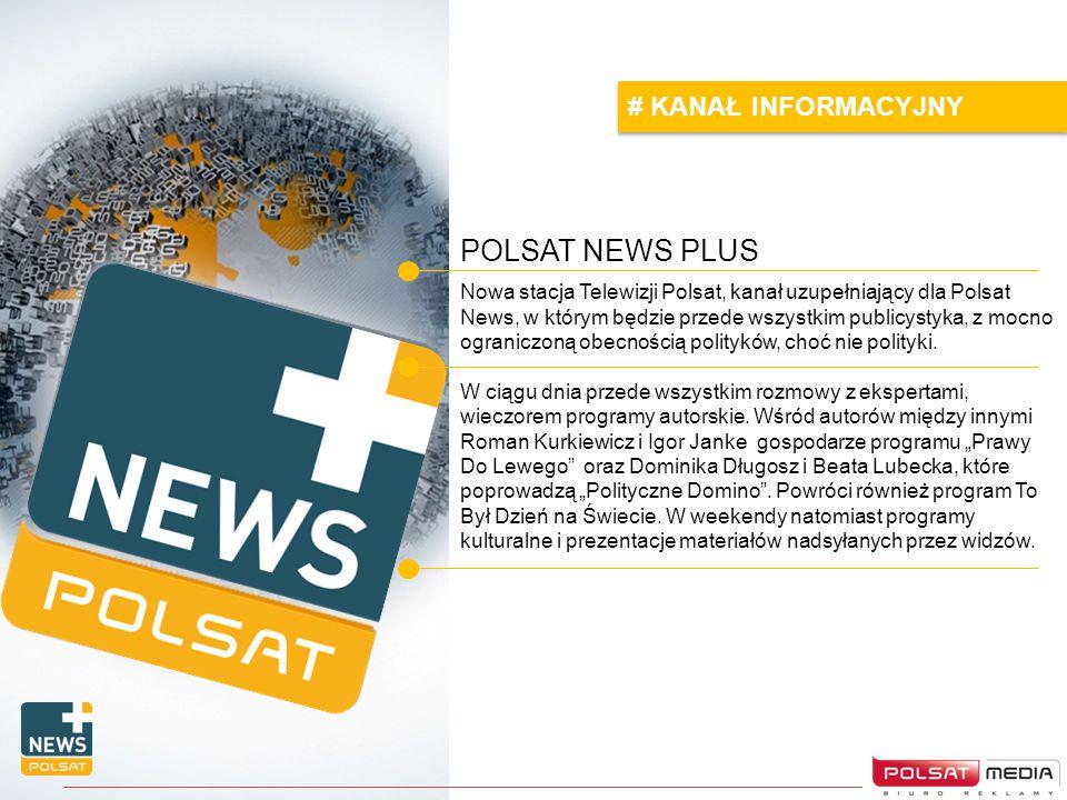 POLSAT NEWS PLUS # KANAŁ INFORMACYJNY
