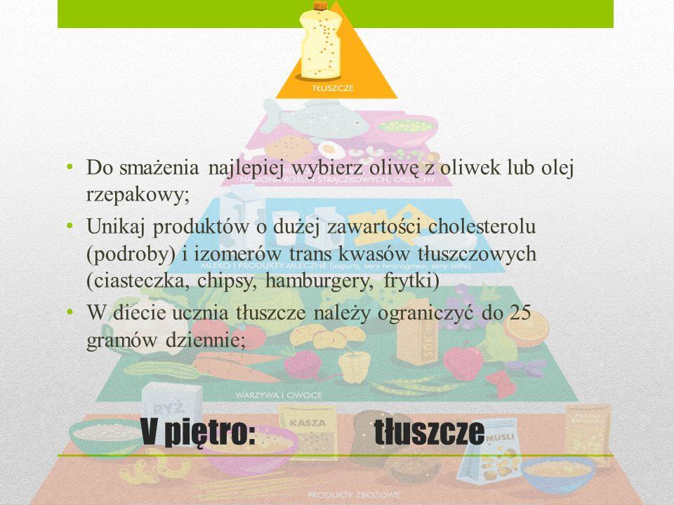 Do smażenia najlepiej wybierz oliwę z oliwek lub olej rzepakowy;