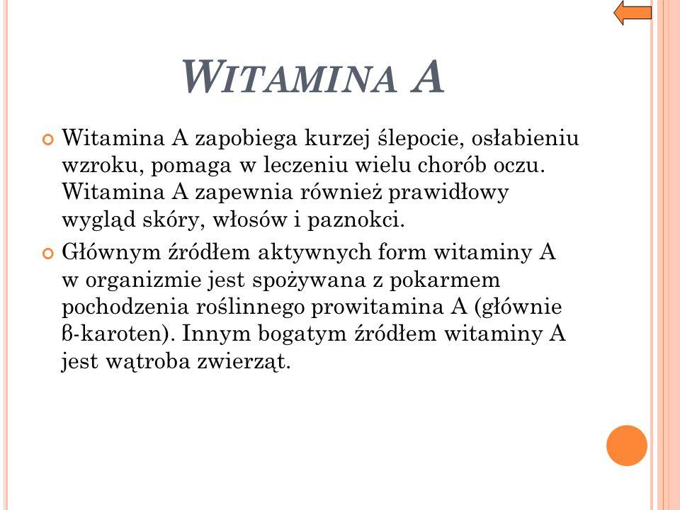 Witamina A