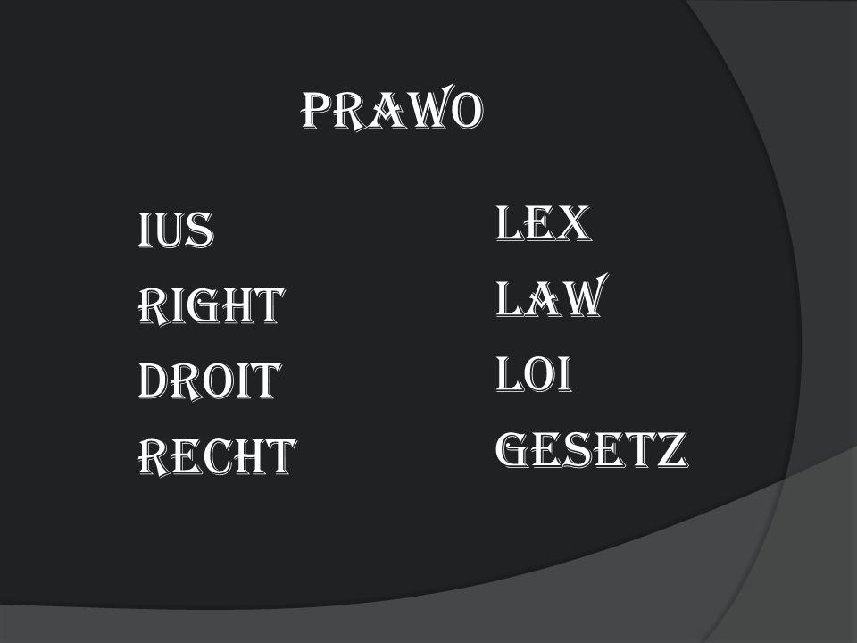 prawo Lex Law Loi gesetz ius right droit Recht