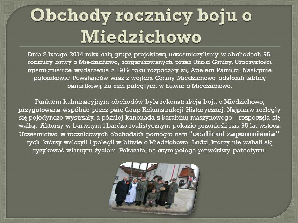 Obchody rocznicy boju o Miedzichowo