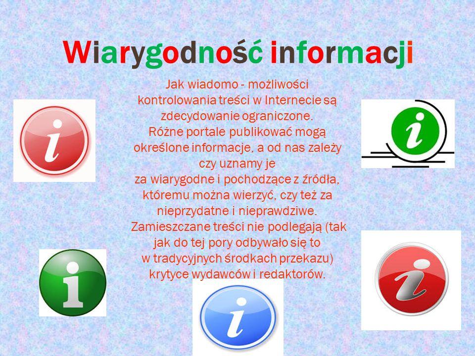 Wiarygodność informacji