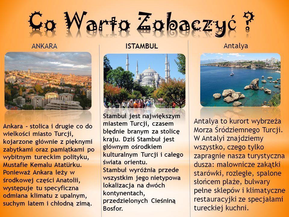 Co Warto Zobaczyć ANKARA ISTAMBUŁ Antalya