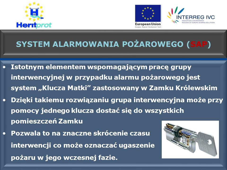 SYSTEM ALARMOWANIA POŻAROWEGO (SAP)