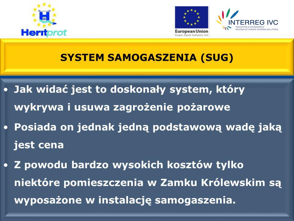 SYSTEM SAMOGASZENIA (SUG)