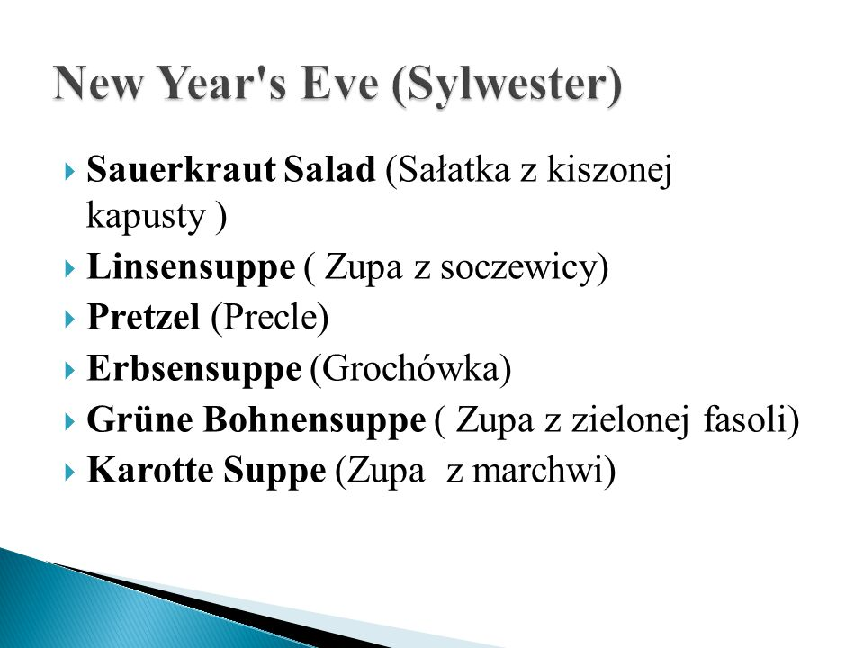 New Year s Eve (Sylwester)