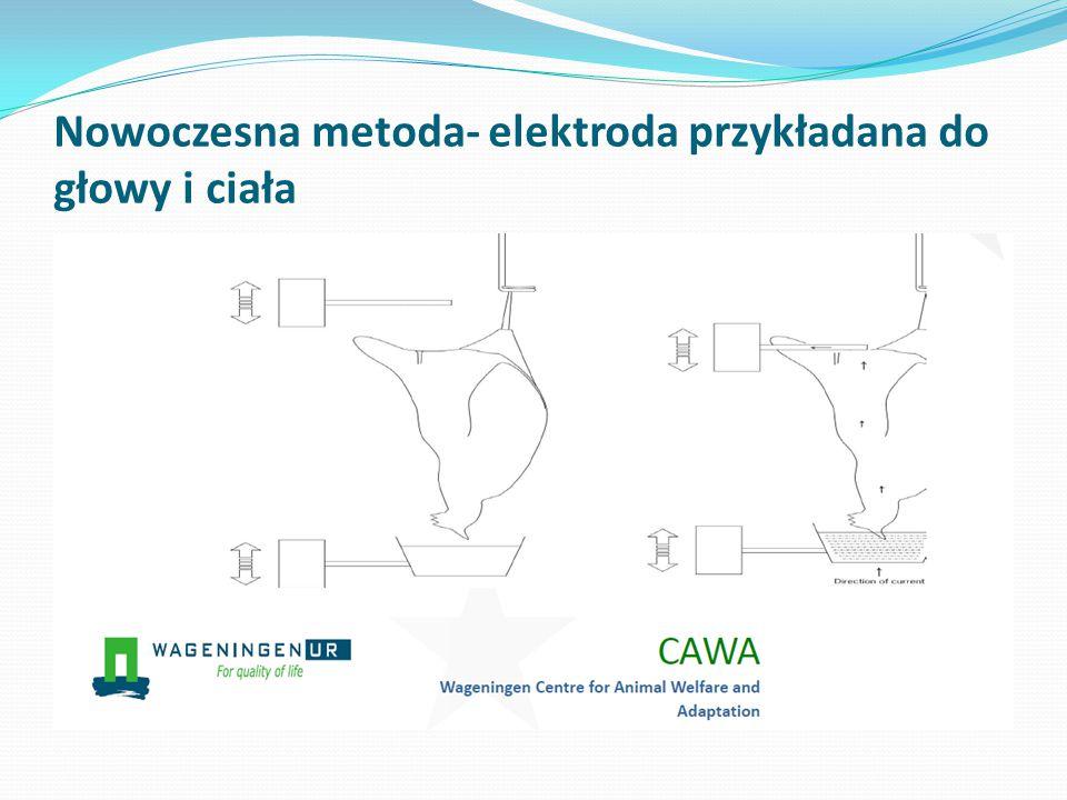 Nowoczesna metoda- elektroda przykładana do głowy i ciała