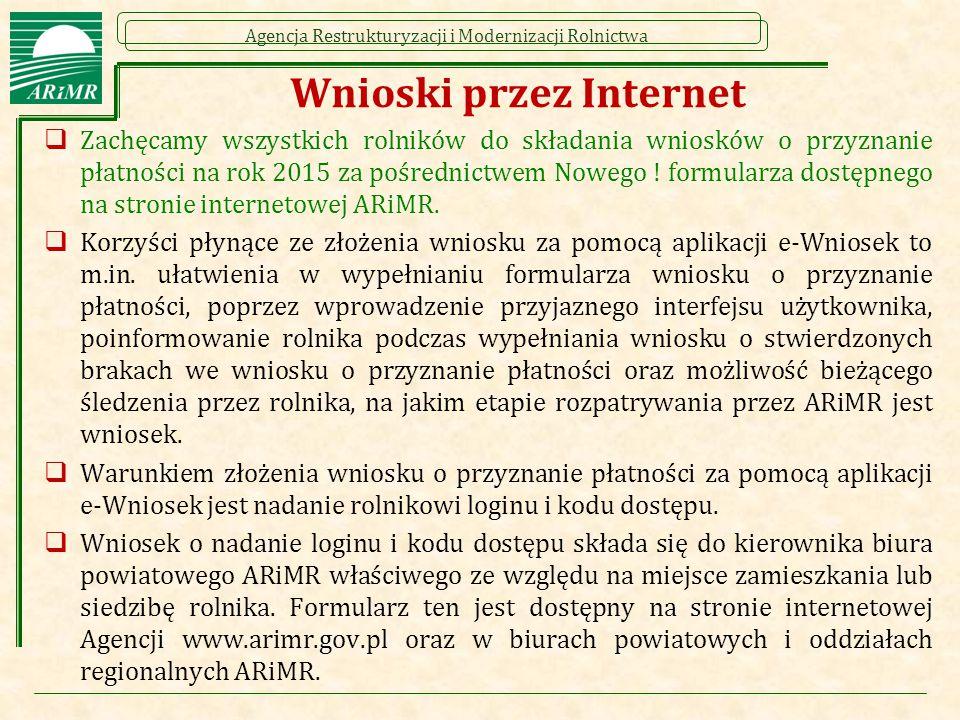 Wnioski przez Internet