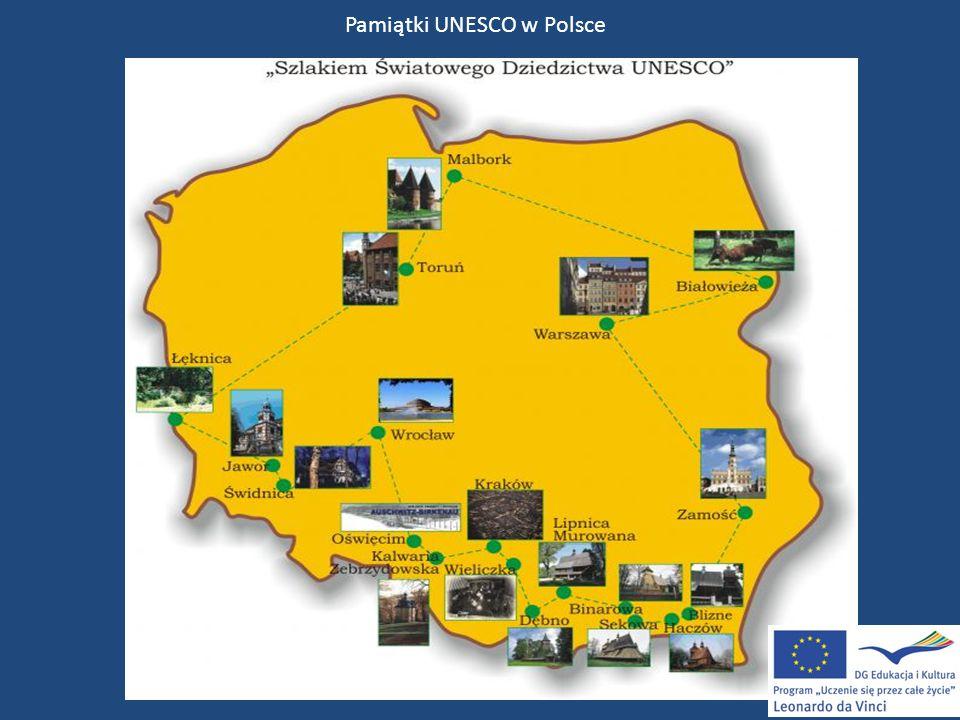 Pamiątki UNESCO w Polsce