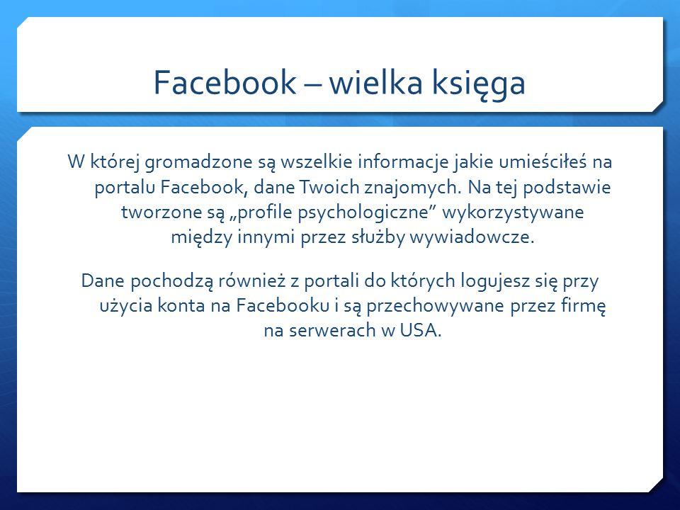 Facebook – wielka księga