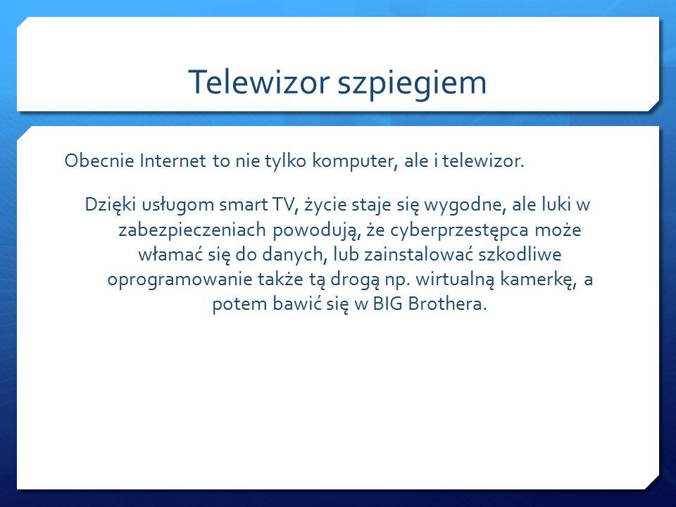 Telewizor szpiegiem