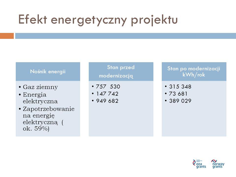 Efekt energetyczny projektu
